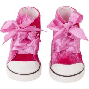 Gotz - 3402957 - sneakers pink velvet pour poupées de 42-46cm,45-50cm (371890)