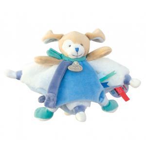 Doudou et compagnie - DC3388 - Doudou tatoo petit modèle - chien bleu (372196)
