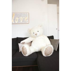 Histoire d'ours - DC3416 - Les Ours Collection by Doudou et Compagnie - OURS COLLECTION 120 cm - Blanc (372294)