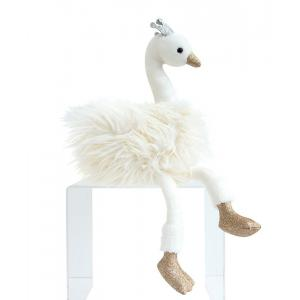 Histoire d'ours - HO2787 - Cygne blanc - 45 cm (372322)