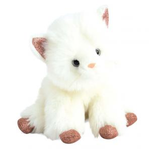 Histoire d'ours - HO2795 - Chat glitter  - taille 25 cm (372342)
