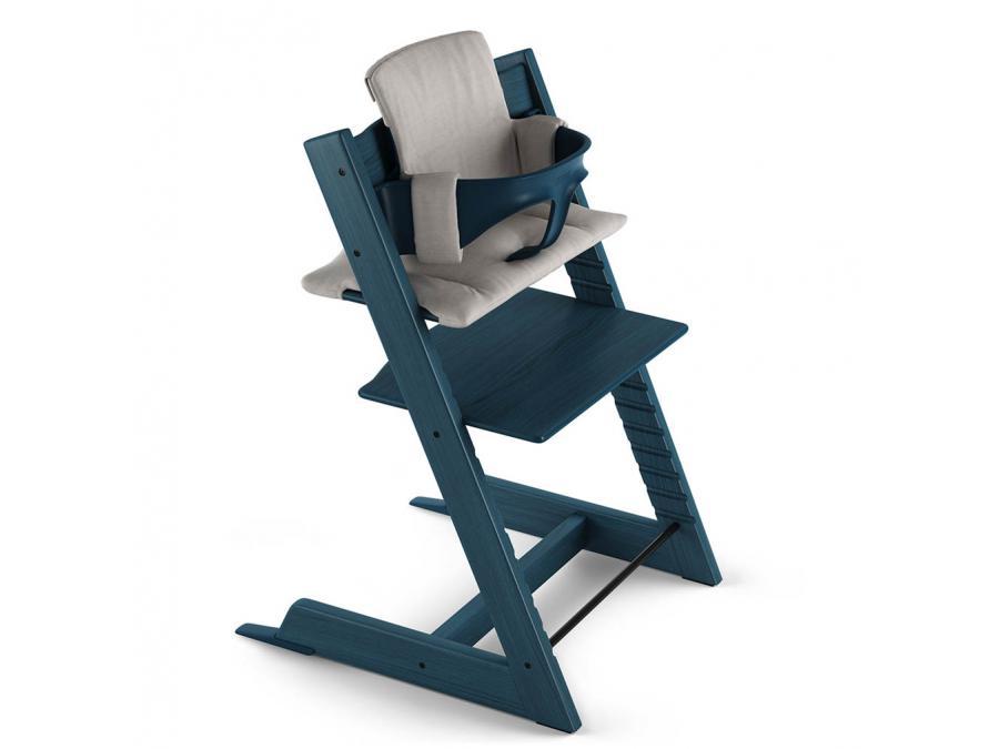 Stokke chaise haute tripp trapp bleu nuit - Chaise haute tripp trapp stokke ...
