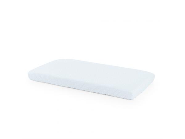 Drap housse coton biologique pour lit home (2pcs) bleu ocean