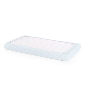 Stokke - 408805 - Drap housse Coton Biologique pour lit Home (2pcs) Bleu Ocean (372564)