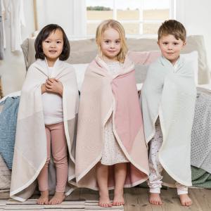 Stokke - 518802 - Couverture tricot coton Bio Rose (372578)