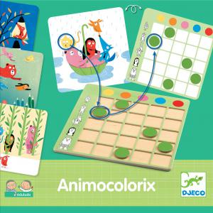 Djeco - DJ08359 - Eduludo -  Animo colorix (372662)