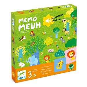 Djeco - DJ08482 - Jeux -  Memo Meuh * (372684)