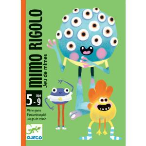 Djeco - DJ05138 - Jeu de cartes Mimo Rigolo (372714)