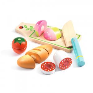 Djeco - DJ06529 - Imitation - Gourmandises -  Lunch à couper * (372732)