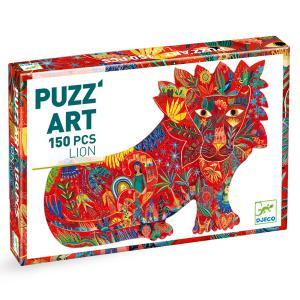 Djeco - DJ07654 - Puzz'Art - Lion - 150 pcs (372790)