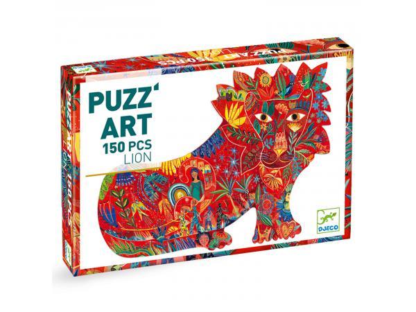 Puzz'art lion - 150 pièces
