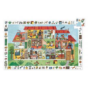 Djeco - DJ07594 - Puzzles observation -  La maison - 35 pièces* (372826)