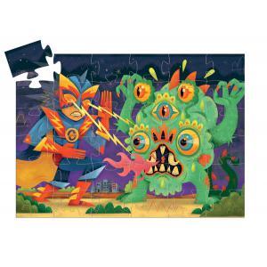 Djeco - DJ07228 - Puzzles silhouettes -  Laser Boy - 36 pièces * (372834)