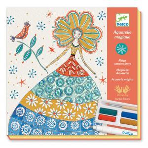 Djeco - DJ08601 - Peinture - Fleurs de romance (372844)
