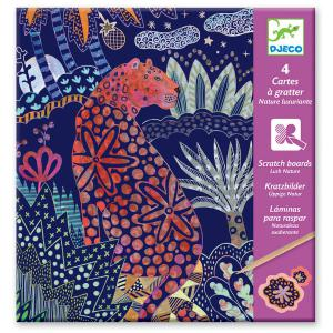 Djeco - DJ09728 - Cartes à gratter  - Nature luxuriante * (372854)