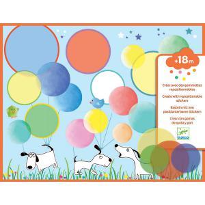Djeco - DJ08974 - Les petits - Collages - Des ronds magiques * (372860)