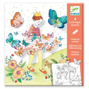 Djeco - DJ09629 - Coloriages surprises - Lady butterfly (372872)