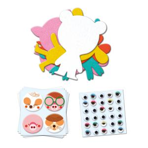 Haba - DJ09050 - Stickers pour les petits  - J'aime les animaux (372878)