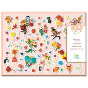 Djeco - DJ09080 - Stickers des petits - La fête (372886)