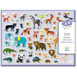 Djeco - DJ09081 - Gommettes et stickers - Mamans et petits (372888)