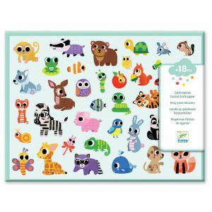 Djeco - DJ09085 - Gommettes et stickers - Bébés animaux (372890)