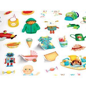 Djeco - DJ09086 - Gommettes et stickers - Mon petit monde (372892)