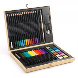 Djeco - DJ08797 - Les couleurs - Pour les grands - Boîte de couleurs * (372908)