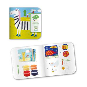 Djeco - DJ09893 - Les petits - Coloriages - Pâte à modeler, dessin * (372928)
