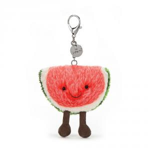 Jellycat - A4WBC - Amuseable Watermelon Bag Charm - 8cm (373700)