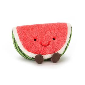 Jellycat - A2W - peluche Pastèque Amuseable Watermelon (373702)