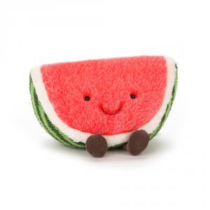 Jellycat - A2W - peluche Pastèque Amuseable Watermelon (373702)
