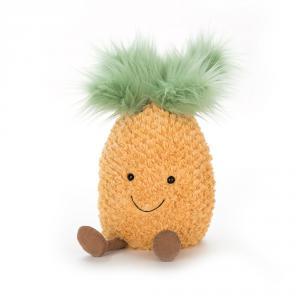 Jellycat - A2P - Peluche Ananas Amusant Fruit - 25 cm (373710)