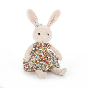 Jellycat - FL3B - Peluche Lapin Fleur Bunny 27cm (373762)