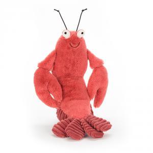 Jellycat - LOB2L - Peluche Larry Lobster - le Homard 27cm (373812)