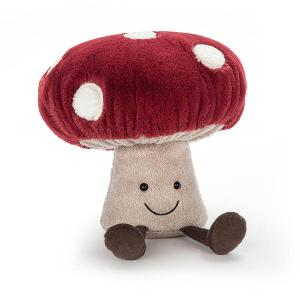 Jellycat - A2M - Peluche Champignon Amuseable Mushroom (373872)