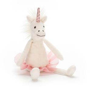 Jellycat - DDS6U - Dancing Darcey Unicorn Small - 23 cm (373944)