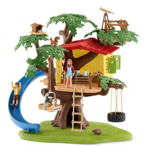 Schleich - 42408 - Cabane aventure dans les arbres (373990)