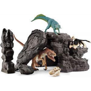 Schleich - 41461 - Kit de dinosaures avec grotte (373992)