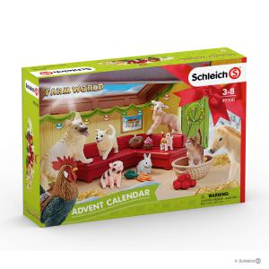 Schleich - 97700 - Cal de l'Avent Farm World 2018 (373998)