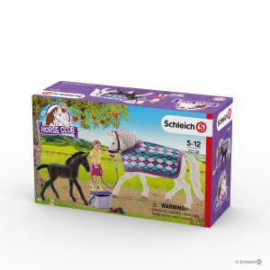 Schleich - 72130 - Soins pour les Lipizzans (374014)