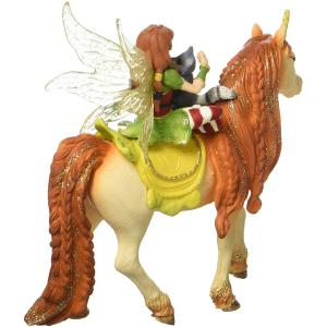 Schleich - 70567 - Figurine Fée Marween avec une licorne scintillante 15 cm x 8,2 cm x 18 cm (374020)
