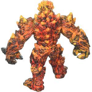 Schleich - 42447 - Figurine Golem de lave avec arme - Dimension : 15,5 cm x 11 cm x 18 cm (374034)