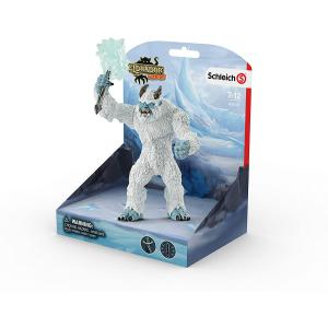 Schleich - 42448 - Figurine Monstre de glace avec arme - Dimension : 15,5 cm x 11 cm x 18 cm (374036)