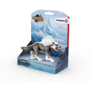 Schleich - 42452 - Figurine Loup des neiges - Dimension : 15 cm x 8,2 cm x 18 cm (374048)