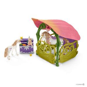 Schleich - 42445 - Maison-fleur pailletée (374080)