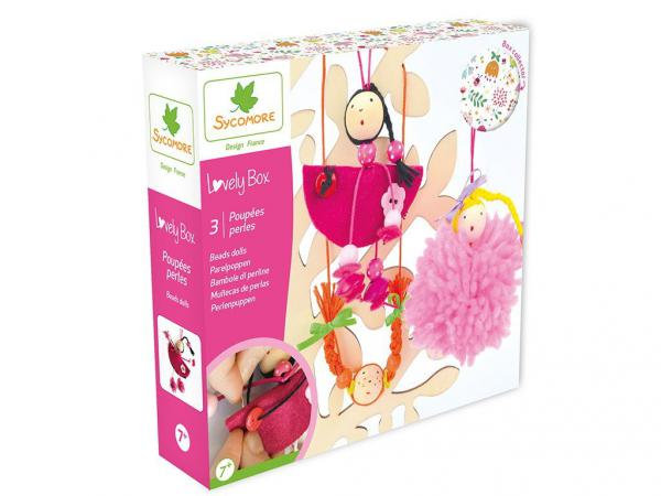 Lovely box petit modèle poupees perles