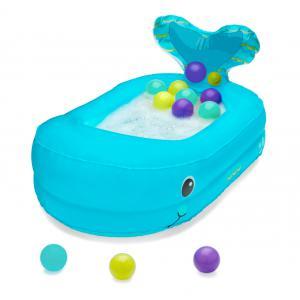 Infantino - 205016 - Baignoire gonflable baleine avec balles de jeu (374620)