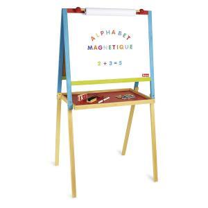 Jeujura - 8743 - Tableau multifonctions en bois avec fonction dessin (375410)