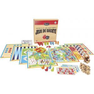Jeujura - 8128 - Coffret de jeux de société traditionnels - coffret en bois (375442)