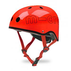 Micro - AC2066 - Casque - Rouge Glossy - Taille S (48 à 52 cm) (375530)